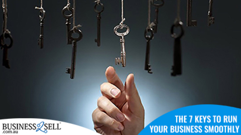 The 7 Keys to Run Your Business Smoothly