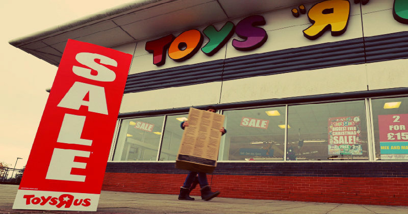 Real Reasons Why Toys 'R' Us Went Bankrupt