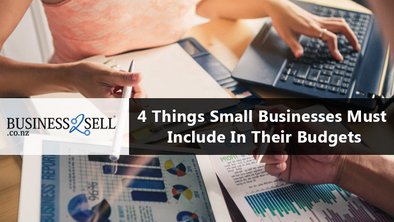 4 Things Small Businesses Must Include In Their Budgets